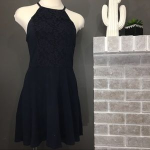 Abercrombie lace back dress